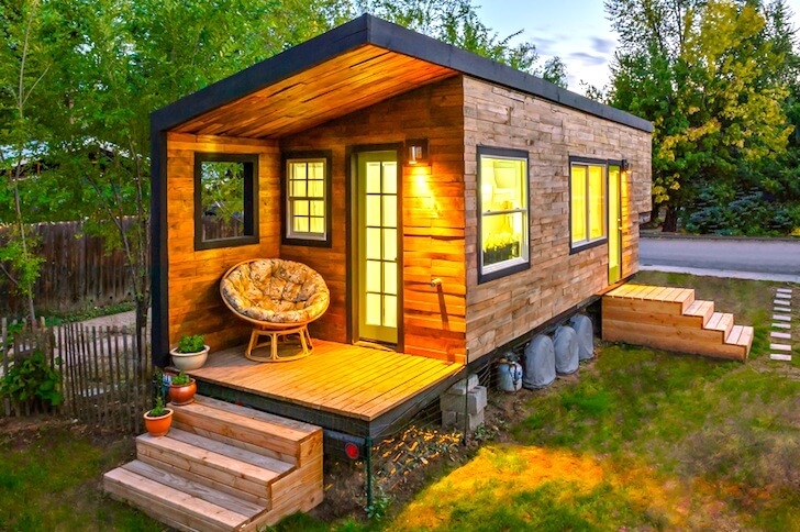 8 amazing tiny homes you can buy or build for under 20 000 offgridhub. Black Bedroom Furniture Sets. Home Design Ideas