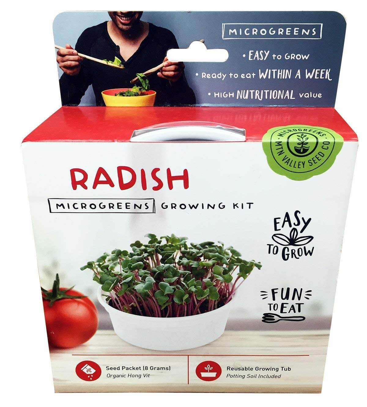Mountain Valley Seed Company Radish Growing Kit